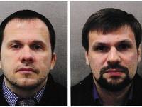 Alexander Petrov (alias Alexander Miškin) a Ruslan Boširov (alias Anatolij Čepiga) z aféry Skripal.