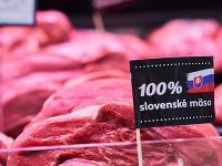 Kaufland ponúka 100-percentné hovädzie mäso.