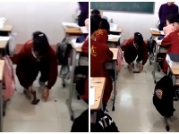 Študentka strednej školy v Číne musela rozbiť svoj mobil.