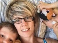Caroline Nelsonová s deťmi