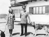 Eva Braun a Adolf Hitler, Berchtesgaden, Nemecko