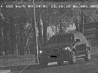 Vodič BMW X5 prekročil maximálnu dovolenú rýchlosť o 72 km/h.