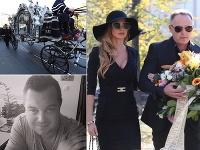 Andrea Verešová dorazila na pohreb Jana Kočku ml. vo zvodných šatách.