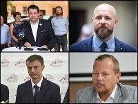 Rastislav Mráz, Peter Bročka, Igor Válek a Marián Galbavý