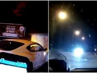 Vodič vozidla bentley unikal dopravnej hliadke.