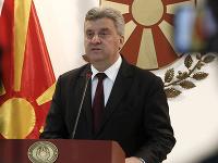 Macedonský prezident George Ivanov.