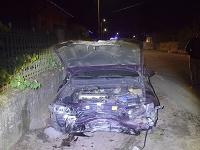 Opitý vodič bez vodičského preukazu zdemoloval plynovú prípojku