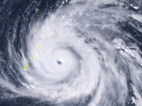 Supertajfún Yutu zasiahol ostrovy Severné Mariány.