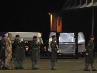 Špeciál s pozostalým pristál na vojenskom letisku Praha-Kbely minulý mesiac.