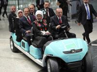 Erdogan otvoril nové letisko v Istanbule