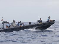 Vojaci a potápači lokalizovali miesto pádu lietadla.