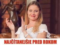 Nela Pocisková sa objavila v talkshow Petra Marcina, Neskoro večer.