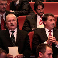 Ivan Gašparovič, Robert Kaliňák a Pavol Paška v SND