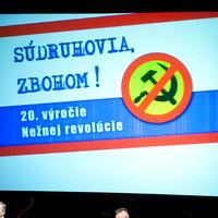 Oslava 20. výročia nežnej revolúcie v SND