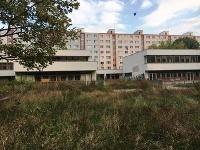 Budova bývalej škôlky na Tematínskej ulici blízko Draždiaka