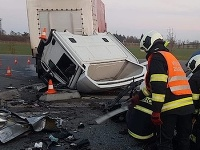 Pri meste Písek sa stala tragická dopravná nehoda