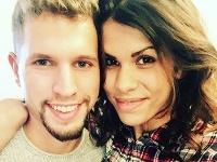 Veronika Strapková so snúbencom Filipom.