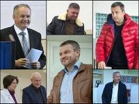 V komunálnych voľbách volili viacerí politici a kandidáti