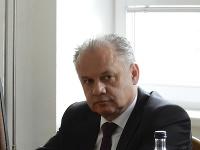 Andrej Kiska na Okresnom súde (OS) v Poprade.