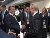 Gerhard Schröder a Vladimir Putin
