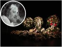 Dnes o 11-tej predpoludním sa konala posledná rozlúčka s Mariánom Geišbergom.