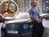 Jasmina Alagič priznala, že svojmu snúbencovi Patrikovi Rytmusovi Vrbovskému rozbila luxusné Bentley.