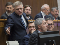 Robert Fico, Andrej Danko, Béla Bugár, Martin Glváč