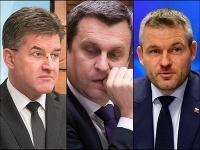 Robert Fico,Andrej Danko, Béla Bugár, Martin Glváč