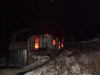 Požiar pri obci Richnava.