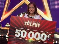 Talentovú súťaž vyhrala bubeníčka Nikoleta Šurínová.