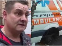 Zlodej ukradol kolesá zo sanitky, ktorá preváža predčasne narodené deti.