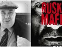 vľavo údajný hlavný boss ruskej mafie Semion Mogilevič, vpravo obálka novej knihy o ruskej mafii