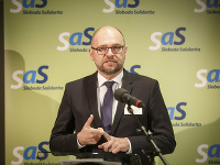 Predseda strany SaS Richard Sulík.