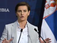 Srbská premiérka Ana Brnabič.