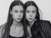 Masha a Dasha chceli byť modelkami.