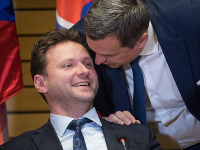 Radek Vondráček a Andrej Danko