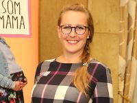 Herečka Danka Šencová sa stala mamou.