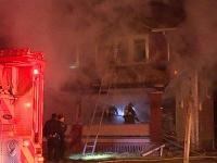 Požiar domu v Ohiu
