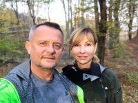 Vilo Rozboril a jeho manželka Sandra