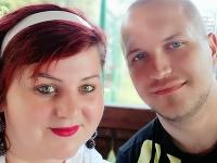 Radka Kaletová s manželom.