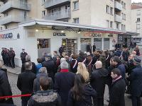 Spomienka na 4. výročie útoku na redakciu satirického magazínu Charlie Hebdo vo francúzskej metropole.