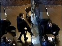 Krádež v bratislavskej kaviarni v obchodnom centre.