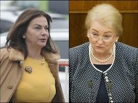 Europoslankyne Monika Beňová a Anna Záborská