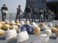 Austrálske námorné sily zhabali v Arabskom mori vyše tri tony hašišu.