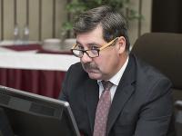Na snímke štátny tajomník ministerstva zahraničných vecí a európskych záležitostí SR František Ružička
