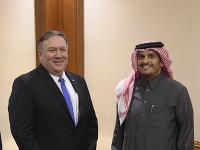 Minister zahraničných vecí USA Mike Pompeo na návšteve Saudskej Arábie.