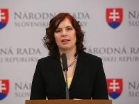 Veronika Remišová kandidovať nebude