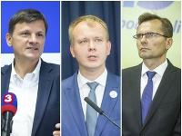 Alojz Hlina, Ľubomír Galko a Miroslav Beblavý