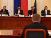 Tretí deň verejného vypočúvania kandidátov.