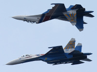 Ruské stíhačky Suchoj Su-27